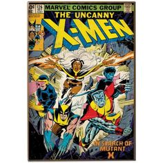 Marvel® Uncanny X-Men Comic Book Cover Wall Plaque - BedBathandBeyond.com $15