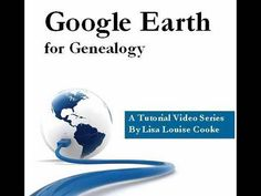 Google Earth for Genealogy Video DVD vol 1 (there's also a vol 2):   Google Earth has the power to geographically record the lives of your ancestors. In this video tutorial  you will learn how to: Identify Where Old Photographs Were Taken; Explore Church Record Origins; Plot Ancestor Homesteads; Create Your Own Custom Historic Map Overlays - http://blog.eogn.com/eastmans_online_genealogy/2010/09/the-google-earth-for-genealogy-video-series-expands.html & http://lisalouisecooke.com