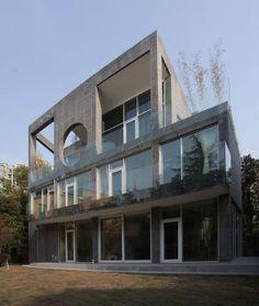 Villa A by QSJW Architects