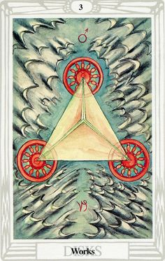 3 d'écus (Works) - Tarot Thoth par Aleister Crowley