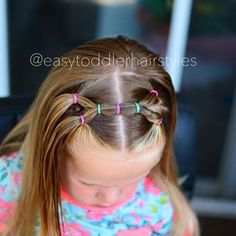 I feel like we've done so many elastic styles this summer, but it's what stays put for really active days. This one can be used for a half up style or all up. Just pull it all into a low ponytail or messy bun.