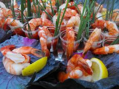 Cocktail Shrimp Shooters - 21 Tasty and Easy Party Food Recipes