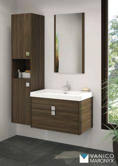 mobilier de salle de bain quadra de la srie express vanico maronyx disponible chez - Salle De Bain Vanite Montreal