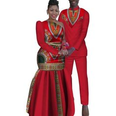 Ankara African couples clothing – Afrinspiration pagne African Couples Sets Man and Women Matching Dashiki Print African Wedding Attire, African Attire, African Dress, Ankara Dress, African Inspired Fashion, African Print Fashion, African Fashion Dresses, Couples African Outfits, Couple Outfits