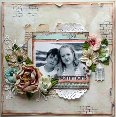 Tillsammans - Scrapbook.com     ...by CamillaE ( 13- Mar-12 ) Wendy Schultz onto Scrapbook Layout's.
