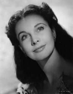 """Vivien Leigh in a promotional portrait for """"Gone With The Wind"""" You know what they say in the South about the role of Scarlett """"Better an English girl than a yankee! Old Hollywood Glamour, Golden Age Of Hollywood, Vintage Hollywood, Hollywood Stars, Classic Hollywood, Classic Actresses, Hollywood Actresses, Beautiful Actresses, Vivien Leigh"""
