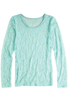 dELiAs > Floral Lace Long Sleeve > tops > view all tops