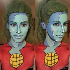 Makeup Artist Makes Mere Mortals Look Like Legends Leaping Off Pages Of Comic Books