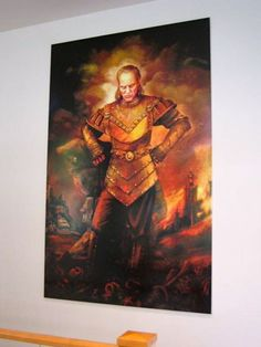 Ghostbusters Vigo Painting. Available at Etsy