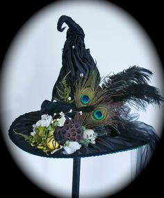 Victorian Witch Hat by StudioSisu on Etsy, $150.00