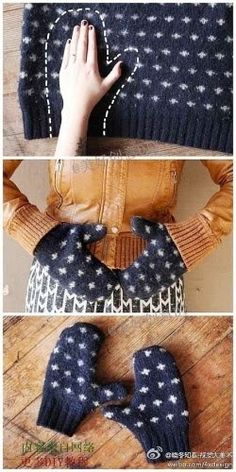 Recycle sweaters