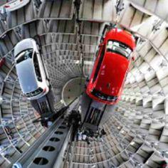 A real multi floor car park
