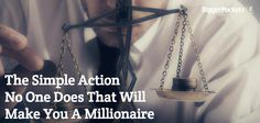 Most people want to build wealth, but very few do this one simple action - though it might be the most important thing you can do.
