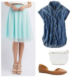 Fabulous Find of the Week: Charlotte Russe Tulle Midi Skirt - College Fashion