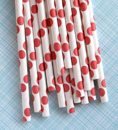 Love these, even more than I love the typical stripe paper straws.