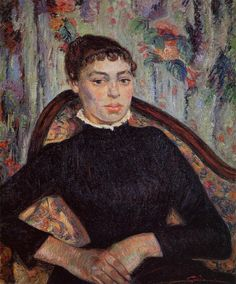 armand guillaumin(1841-1927), portrait of a young girl, 1889. oil on canvas, van gogh museum, netherlands http://www.the-athenaeum.org/art/detail.php?ID=1929