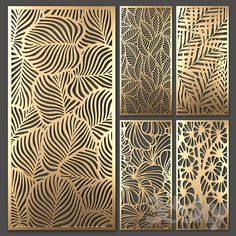 models: Other decorative objects - Decorative partition Laser Cut Screens, Laser Cut Panels, 3d Panels, Decorative Screens, Decorative Objects, Decorative Metal, Glass Design, Door Design, Royal Wallpaper