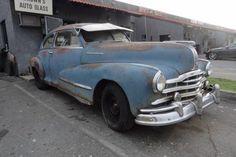 Streamlined Pontiac: 1948 Pontiac Silver Streak - http://barnfinds.com/streamlined-pontiac-1948-pontiac-silver-streak/