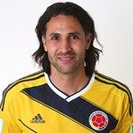 Mario Yepes of Colombia poses