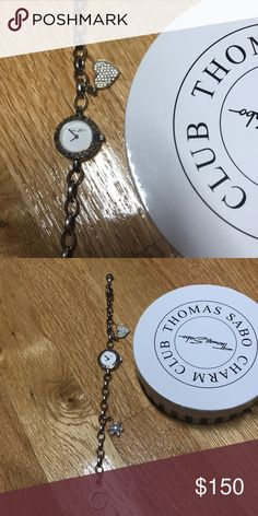 Thomas sabo bracelet watch with 2 charms Thomas sabo bracelet watch with 2 charms Thomas Sabo Jewelry Bracelets