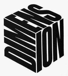 Herb Lubalin — Dimension — Designspiration example of typography Poster Design, Poster Layout, Graphic Design Posters, Graphic Design Typography, Graphic Design Illustration, Graphic Design Inspiration, Japanese Typography, Japanese Logo, Type Posters