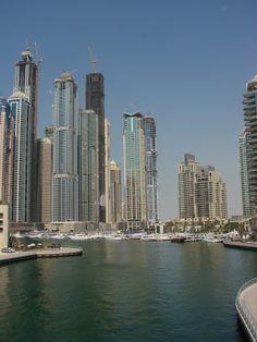Beautiful buildings in Dubai. Amazing view. #Peace #Truth #Love