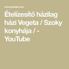 Ételízesítő házilag  házi Vegeta  / Szoky konyhája  / - YouTube Vegas, Youtube, Math Equations, Homemade, Diy Crafts, Do It Yourself, Youtubers, Home Made