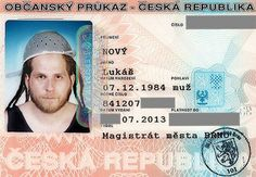 Man wins a religious liberty battle to wear a pasta strainer on his Czech government ID card. Benefits Of Laughter, Flying Spaghetti Monster, Id Photo, License Photo, Meanwhile In, Weird News, Czech Republic, Ramen, Battle