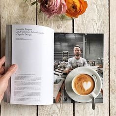 Good morning Friday! Its great to read this interesting interview with Dan Schonknecht of @specht_design in Drift Magazine  Volume 5 who customizes espresso machines in the most beautiful way and also collaborated one year ago with @thirdwavewichteln where he made a beautiful wooden version of the @moccamaster_aus. I hope I will meet him in person one day. If you want to read this and many other great stories and interviews from and about Melbournes coffee scene you can still order your copy…