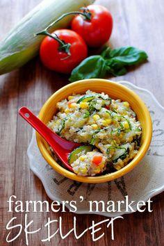 Farmers Market Skillet via Iowa Girl Eats