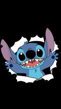 Cartoon Wallpaper Iphone, Cute Disney Wallpaper, Cute Cartoon Wallpapers, Disney Kunst, Disney Art, Stitch Tumblr, Lilo And Stitch Memes, Stitch Disney, Stitch Drawing
