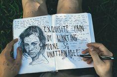 wreck this journal pages Arte Sketchbook, Sketchbook Pages, Journal Pages, Journals, Notebooks, Journal Ideas, Wreck This Journal, Bullet Journal Art, Art Et Design
