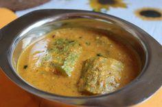 Stuffed Snake Gourd Curry - Pudalangai Curry