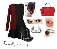 """""""Familly evening."""" by i-m-superstar ❤ liked on Polyvore featuring Proenza Schouler, Giuseppe Zanotti, Theory, Michael Kors and Charlotte Tilbury"""