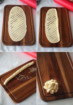 Tortelina: Uvrnuta peciva - http://back-dein-brot-selber.de/brot-selber-backen-rezepte/tortelina-uvrnuta-peciva/