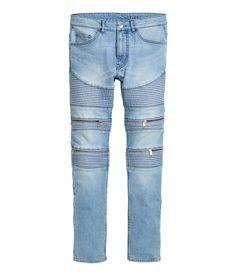 Skinny Regular Biker Jeans | H&M Divided Guys