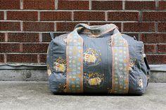 Travel Handmade: Duffel Bag! | Flickr - Photo Sharing!