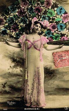 Miss Barnhieri by Reutlinger Paris Belle by TheVintageProphecy