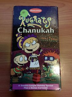 Rugrats - A Rugrats Chanukah (VHS, 1997) Nickelodeon Kids Animated