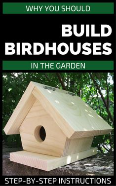 Bird House Plans 185069865925232502 - Why You Should Build Birdhouses In The Garden Source by Slugs In Garden, Garden Bugs, Garden Insects, Garden Pests, Garden Animals, Wooden Bird Houses, Bird Houses Painted, Bird Houses Diy, Garden Steps
