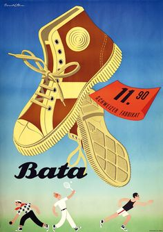 Brun Donald Bata Schweizer Fabrikat Jahr: 1946