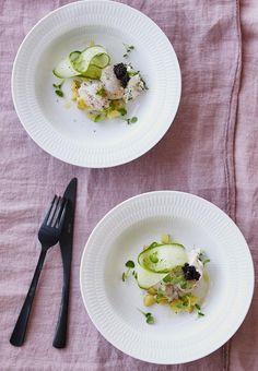 Frisk, Fish And Seafood, Ricotta, Starters, Menu, Treats, Dining, Breakfast, Ethnic Recipes
