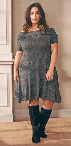Plus Size Dress affiliate link big size fashion http://amzn.to/2kRZpiY