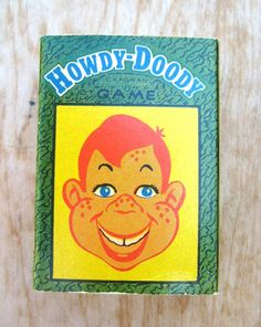 Vintage Howdy Doody Card Game Russells Popular Games Card Game by KAGRAN 1954 by treasurecoveally on Etsy