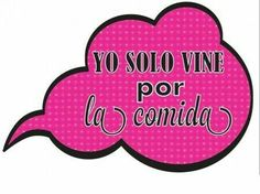 Yo sólo vine por la comida Photo Boots, Party Mode, Happy 50th, Barbie, Quinceanera Party, Photo Booth Backdrop, Ideas Para Fiestas, Party Props, Ideas Party