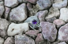 Amethyst topaz twist twig ring, sterling silver twig engagement ring, twig promise ring, branch nature engagement ring by Oore on Etsy https://www.etsy.com/listing/238263375/amethyst-topaz-twist-twig-ring-sterling
