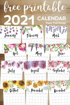 Calander Printable, Free Printable Calendar Templates, Free Printables, 2021 Calendar, Free Calendar, Calendar Pages, School Calender, School Coloring Pages, Paper Trail