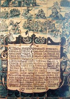 BATALHA DO AMEIXIAL – Excerto de painel de azulejos (544x164 cm). Oficina de Lisboa (c. 1670). Desenho de engenheiro militar. Palácio dos Marqueses de Fronteira, Fundação das Casas de Fronteira e Alorna, Lisboa, Portugal.