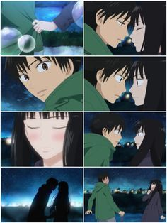 He almost kissed her!!like OH MY GOD!!!watch it on kimi ni todoke episode17!like now now now!