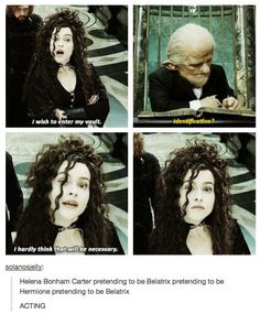 """When they noticed how weird this scene actually was. 